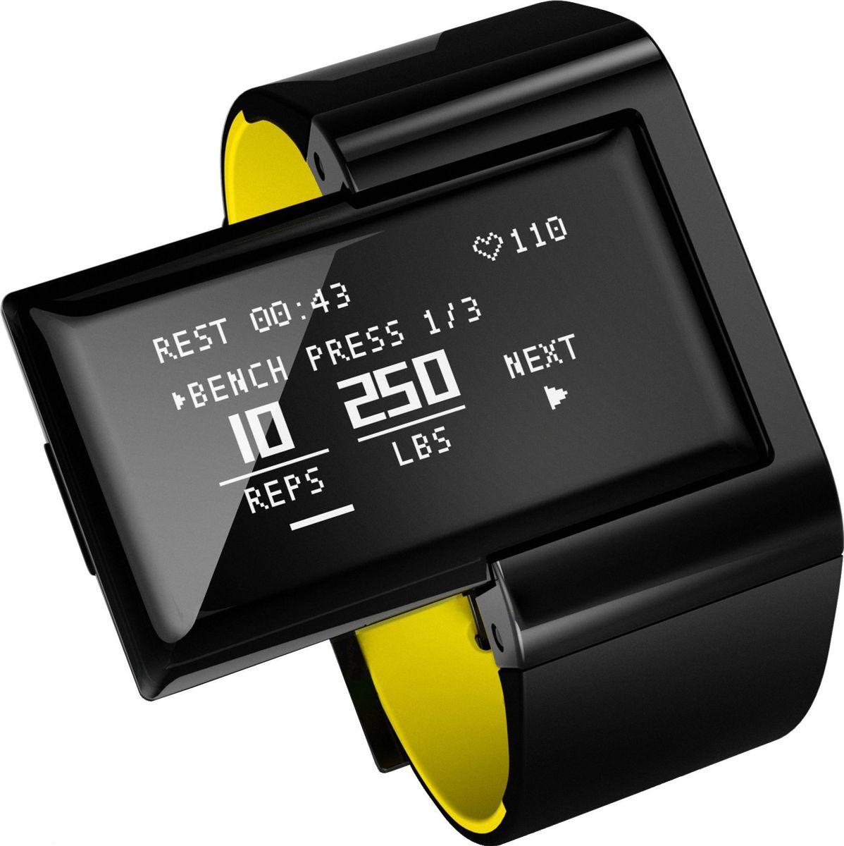 Пульсометр Atlas, цвет: зеленыйA102AW-YLWAtlas Wearables – фитнес-трекер, фиксирующий ежедневную активность и статистику тренировок. Устройство подсчитывает частоту сердечных сокращений, тип и число повторений, интенсивность нагрузки, пройденное расстояние, сожженные калории, оценивает спортивную форму владельца и даже дает советы. В памяти трекера предустановлены сведения о более сотни популярных упражнений. При этом устройство способно учиться, запоминая новые виды движений. Данные статистики синхронизируются с мобильным устройством для наглядной визуализации.ОСОБЕННОСТИBluetooth 4.0 позволяет синхронизировать трекер с устройствами на базе Android и iOSОптический датчик сердечного ритма, отображающий пульс в режиме реального времени3-х осевой акселерометр и гироскоп, определяющие микродвижения в трехмерном пространствеРежим Freestyle Mode: определяет упражнение, подсчитывает число повторений, замеряет пульс и рассчитывает количество сожжённых калорийРежиме Coach Mode: позволяет выбрать упражнение из обширной базы, фиксирует время активности и отдыхаАнализ эффективности и правильности выполнения упражненийОбновляемая база упражнений, разработанная профессиональными тренерами и спортсменамиВнутренняя память позволяет хранить данные о 365 часах тренировок без синхронизации со смартфономФирменное приложение Atlas Wearables для доступа к статистике тренировокТЕХНИЧЕСКИЕ ХАРАКТЕРИСТИКИВодостойкий 30 метров (Защита от пота, брызг)Датчики 3-осевой акселерометр3-осевой гироскоп Оптический датчик сердечного ритмаДисплей OLED, 128*64 пикс Зарядка через микро USBМатериал Корпус изготовлен из прочного пластика, ремешок выполнен из силиконового материала. ГипоаллергенныйРазмеры Браслет: ремешок – стандартный размер, обхват запястья - 123мм - 216мм.Аккумулятор Автономная работа - 5 часов активной тренировки или 4 дня в режиме ожидания Аккумулятор емкостью 120mAh, зарядка через Micro-USBПамять 365 часов подробных данных тренировки (в т.ч. ЧСС)Сопряжение Bluetooth Low Energy (BTLE