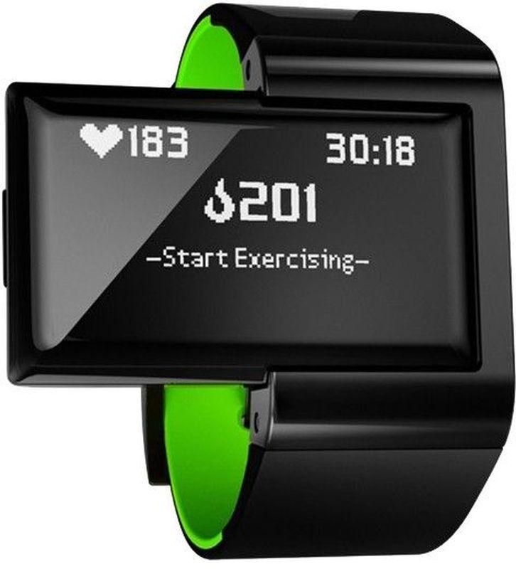 Пульсометр Atlas, цвет: желтыйA102AW-GRNAtlas Wearables – фитнес-трекер, фиксирующий ежедневную активность и статистику тренировок. Устройство подсчитывает частоту сердечных сокращений, тип и число повторений, интенсивность нагрузки, пройденное расстояние, сожженные калории, оценивает спортивную форму владельца и даже дает советы. В памяти трекера предустановлены сведения о более сотни популярных упражнений. При этом устройство способно учиться, запоминая новые виды движений. Данные статистики синхронизируются с мобильным устройством для наглядной визуализации.ОСОБЕННОСТИBluetooth 4.0 позволяет синхронизировать трекер с устройствами на базе Android и iOSОптический датчик сердечного ритма, отображающий пульс в режиме реального времени3-х осевой акселерометр и гироскоп, определяющие микродвижения в трехмерном пространствеРежим Freestyle Mode: определяет упражнение, подсчитывает число повторений, замеряет пульс и рассчитывает количество сожжённых калорийРежиме Coach Mode: позволяет выбрать упражнение из обширной базы, фиксирует время активности и отдыхаАнализ эффективности и правильности выполнения упражненийОбновляемая база упражнений, разработанная профессиональными тренерами и спортсменамиВнутренняя память позволяет хранить данные о 365 часах тренировок без синхронизации со смартфономФирменное приложение Atlas Wearables для доступа к статистике тренировокТЕХНИЧЕСКИЕ ХАРАКТЕРИСТИКИВодостойкий 30 метров (Защита от пота, брызг)Датчики 3-осевой акселерометр3-осевой гироскоп Оптический датчик сердечного ритмаДисплей OLED, 128*64 пикс Зарядка через микро USBМатериал Корпус изготовлен из прочного пластика, ремешок выполнен из силиконового материала. ГипоаллергенныйРазмеры Браслет: ремешок – стандартный размер, обхват запястья - 123мм - 216мм.Аккумулятор Автономная работа - 5 часов активной тренировки или 4 дня в режиме ожидания Аккумулятор емкостью 120mAh, зарядка через Micro-USBПамять 365 часов подробных данных тренировки (в т.ч. ЧСС)Сопряжение Bluetooth Low Energy (BTLE 