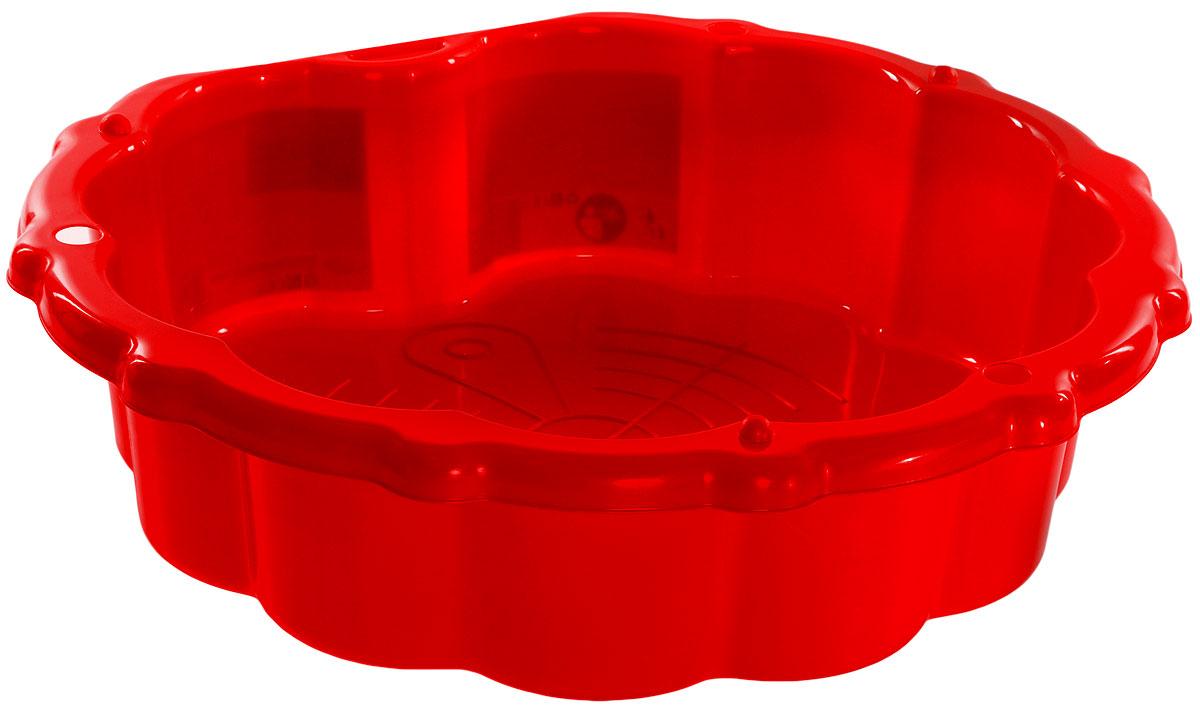 Mochtoys Песочница-бассейн цвет красный