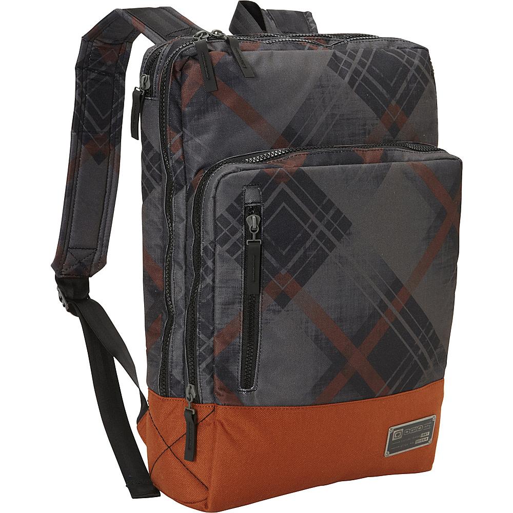 Рюкзак городской OGIO Fashion. Covert Pack (A/S), цвет: темно-серый, коричневый. 031652208933BP-001 BKРюкзак OGIO Fashion. Covert Pack (A/S) разработан для ярких и модных людей! Он позволит вам взять с собой все необходимое.С виду компактный, но очень вместительный рюкзак, он отлично подойдет для транспортировки любимых гаджетов. Рюкзак OGIO Fashion. Covert Pack (A/S) оснащен мягким чехлом для ноутбука, отсеком для планшета с дополнительным пространством для документов, а так же превосходным карманом-органайзером, легко вмещающим письменные принадлежности и полезные аксессуары. Отличная модель для тех, кто не любит громоздкие рюкзаки, отдавая предпочтение изящным силуэтам. OGIO - высокотехнологичный продукт от американского производителя. Вместимые сумки для путешествий, работы и отдыха, специальная коллекция городских сумок для женщин, жесткие боксы под мелкий инвентарь и многое другое.