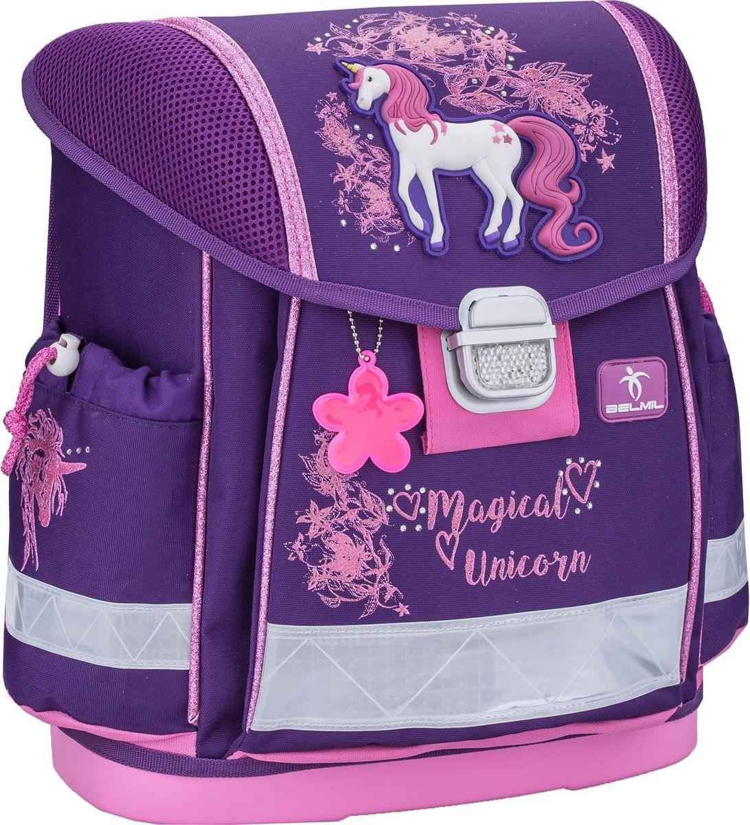 Belmil Ранец школьный для девочки Classy Unicorn