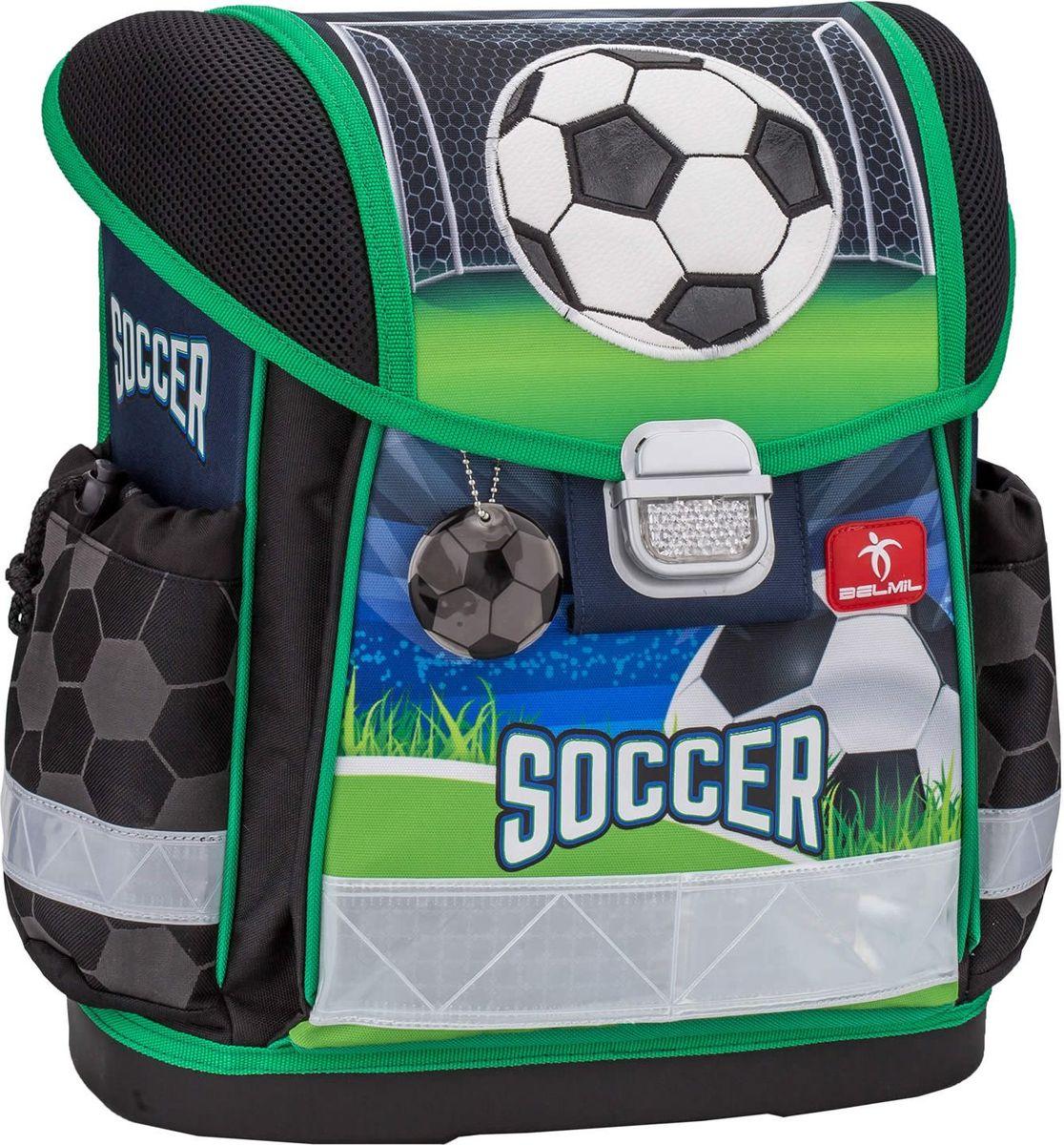 Belmil Ранец школьный для мальчика Classy Soccer