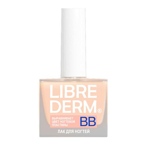Librederm Лак для ногтей ВВ 10 млFA-8116-1 White/pinkРеставрирует ногтевую пластину, маскируя желтизну и визуально сглаживая неровности, подобно ВВ-крему придает ногтям красивый бежевый оттенок витаминный комплекс ухаживает за ногтями, укрепляя их изнутри европейская лаковая основа