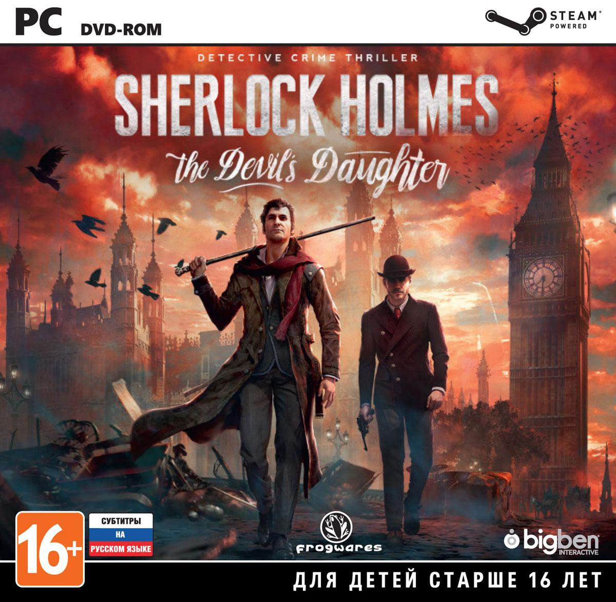 Sherlock Holmes: The Devil's Daughter sherlock holmes the devil s daughter игра для pc