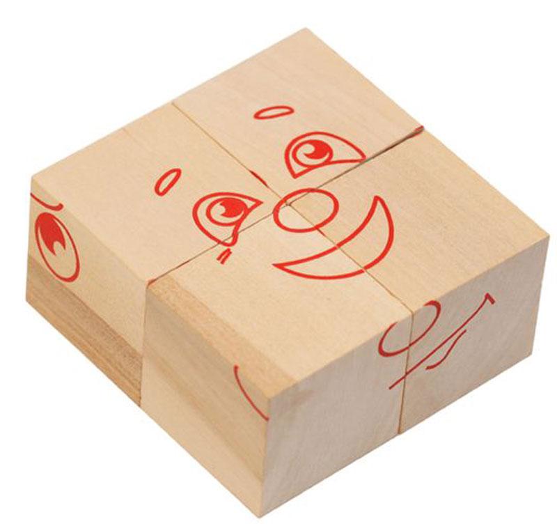 Краснокамская игрушка Кубики Настроения, Краснокамская фабрика деревянной игрушки