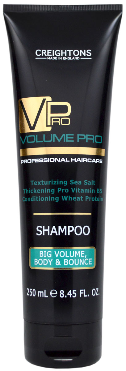 Creightons Шампунь для придания объема и упругости волосам, 250 млMP59.4DМягко очищает и увлажняет волосы от корней до самых кончиков. Невесомая формула удаляет загрязнения, делая волосы объемными и упругими. Уникальное сочетание Pro Витамина B5, Морской соли и Протеина Пшеницы уплотняет структуру волоса. Придает блеск и делает волосы более объемными и упругими. Подходит для всех типов волос.