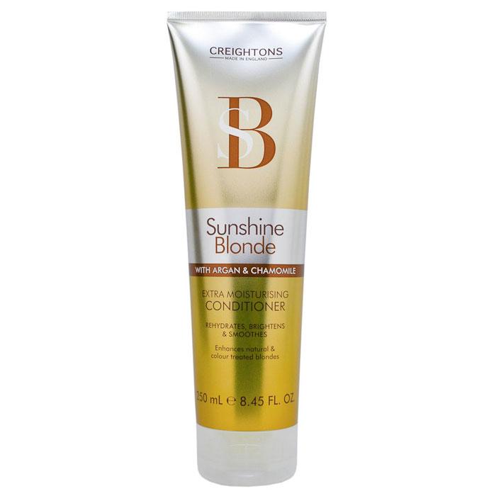Creightons Увлажняющий кондиционер для светлых волос Солнечное сияние, 250 мл72523WDЛучший способ ухода за светлыми волосами. В состав кондиционера входит Pro-Витамин В5, аргановое масло, экстракт ромашки и солнцезащитные компоненты, которые помогают продлить яркость и сияние выбранного вами оттенка. НЕ ОКРАШИВАЕТ ВОЛОСЫ.