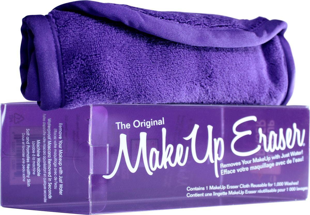 MakeUp Eraser салфетка для снятия макияжа фиолетоваяFS-00897Makeup Eraser Original (фиолетовая) уникальная салфетка, которая с невероятной легкостью снимает макияж, аккуратно очищая кожу лица абсолютно естественным образом. Салфетка воздействует без применения привычных средств для удаления декоративной косметики или умывания, значительно упрощает повседневный ритуал ухода и очищения, делает его приятным и легким.Секрет магических свойств салфетки Makeup Eraser заключается в особом переплетении полиэстеровых нитей. При производстве изделия поверхность ткани не подвергается никакой химической обработке, что гарантирует ее гипоаллергенность и безопасность применения, а для того, чтобы начать процедуру использования салфетки, достаточно просто хорошо смочить ее в чистой теплой воде. Салфетку Makeup Eraser можно с успехом применять для любого типа кожи, в том числе очень чувствительной, ее мягкое воздействие не вызывает раздражений или покраснений, высокий уровень качества ткани гарантирует длительное использование салфетки, а ее великолепные очищающие и ухаживающие свойства не снижаются даже после многократных стирок изделия.