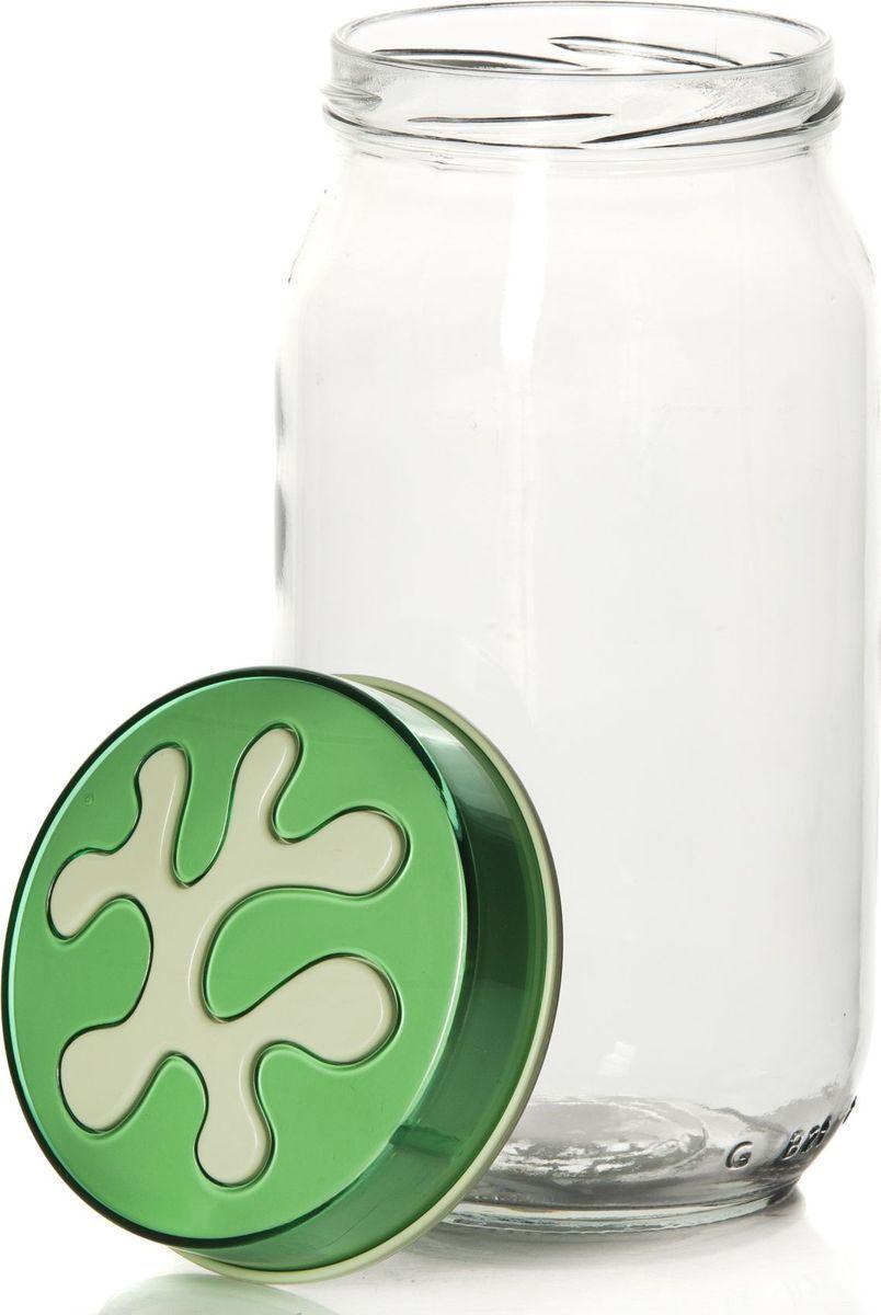 Банка для сыпучих продуктов Herevin, 1 л. 135377-50021395599Банка для сыпучих продуктов Herevin выполнена из высококачественного прочного стекла. Изделие снабжено плотно закручивающейся пластиковой крышкой с рельефным узором. Прозрачные стенки позволяют видеть содержимое. Такая банка отлично подойдет для хранения различных сыпучих продуктов: орехов, сухофруктов, чая, кофе, специй. Диаметр банки: 9 см. Высота банки: 18 см.