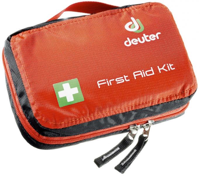 Сумка для медикаментов Deuter  First Aid Kit , цвет: красный, черный, 11 x 18 x 5 см - Аптечки