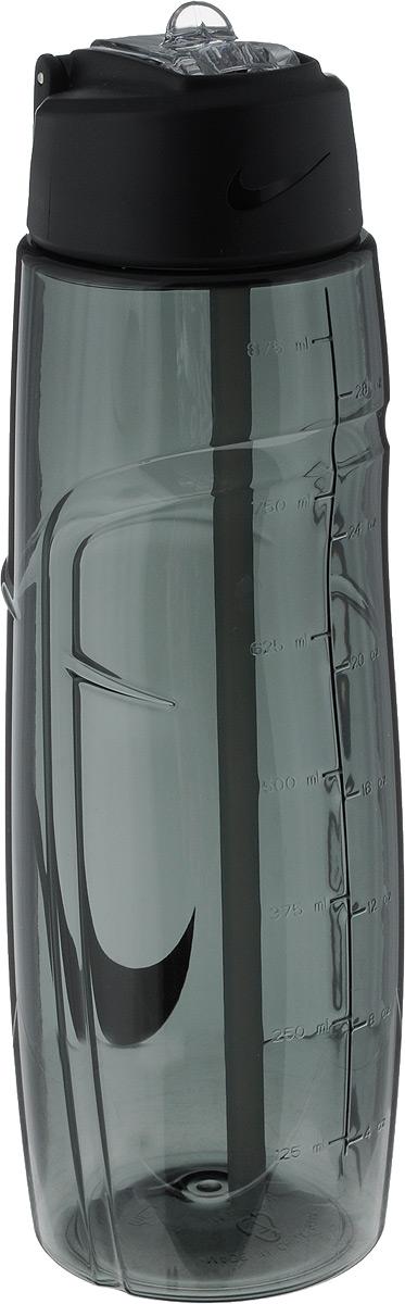 Бутылка для воды Nike T1 Flow Swoosh Water Bottle 32oz, цвет: серый, 946 мл67742Бутылка для воды Nike T1 Flow Swoosh Water Bottle 32oz с горлышком, которое поднимается на 90 градусов, что обеспечивает простоту в использовании.Модель дополнена измерительной шкалой. Возможно мытье в посудомоечной машине, легко собирается и разбирается (инструкция прилагается).Технология материала Tritan обеспечивает долговечность и ударопрочность.Объем: 946 мл.Длина: 25 см.Диаметр (по нижнему краю): 7,5 см.