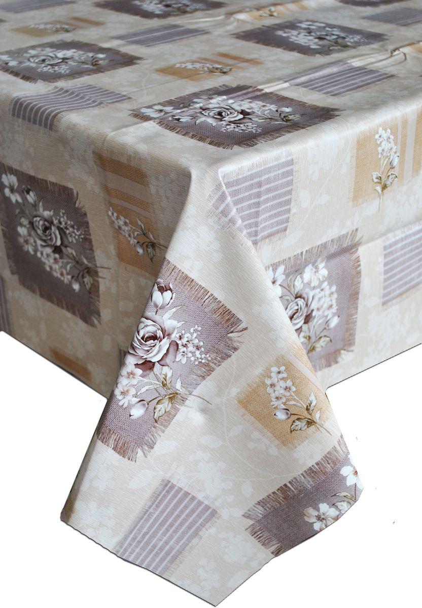 Столовая клеенка LCadesi Florista, прямоугольная, 100 х 140 см. FL100140-196-03VT-1520(SR)Столовая клеенка Florista с классическим дизайном украсит ваш стол и защитит его от царапин и пятен. Благодаря основе из нетканого материала не скользит по столу. Клеенка не имеет запаха и совершенно безопасна для человека.
