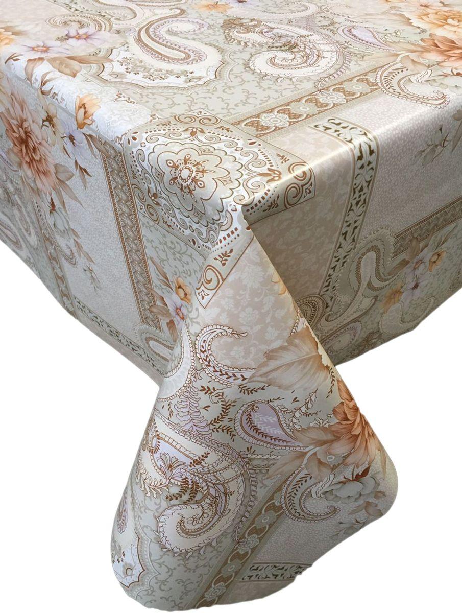 Столовая клеенка LCadesi Florista, прямоугольная, 100 х 140 см. FL100140-332-01VT-1520(SR)Столовая клеенка Florista с классическим дизайном украсит ваш стол и защитит его от царапин и пятен. Благодаря основе из нетканого материала не скользит по столу. Клеенка не имеет запаха и совершенно безопасна для человека.