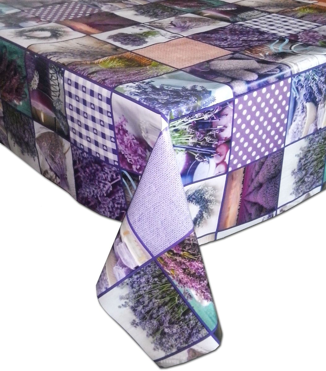 Столовая клеенка LCadesi Florista, прямоугольная, 130 х 165 см. FL130165-309-00SVC-300Столовая клеенка Florista с ярким дизайном украсит ваш стол и защитит его от царапин и пятен. Благодаря основе из нетканого материала не скользит по столу. Клеенка не имеет запаха и совершенно безопасна для человека.