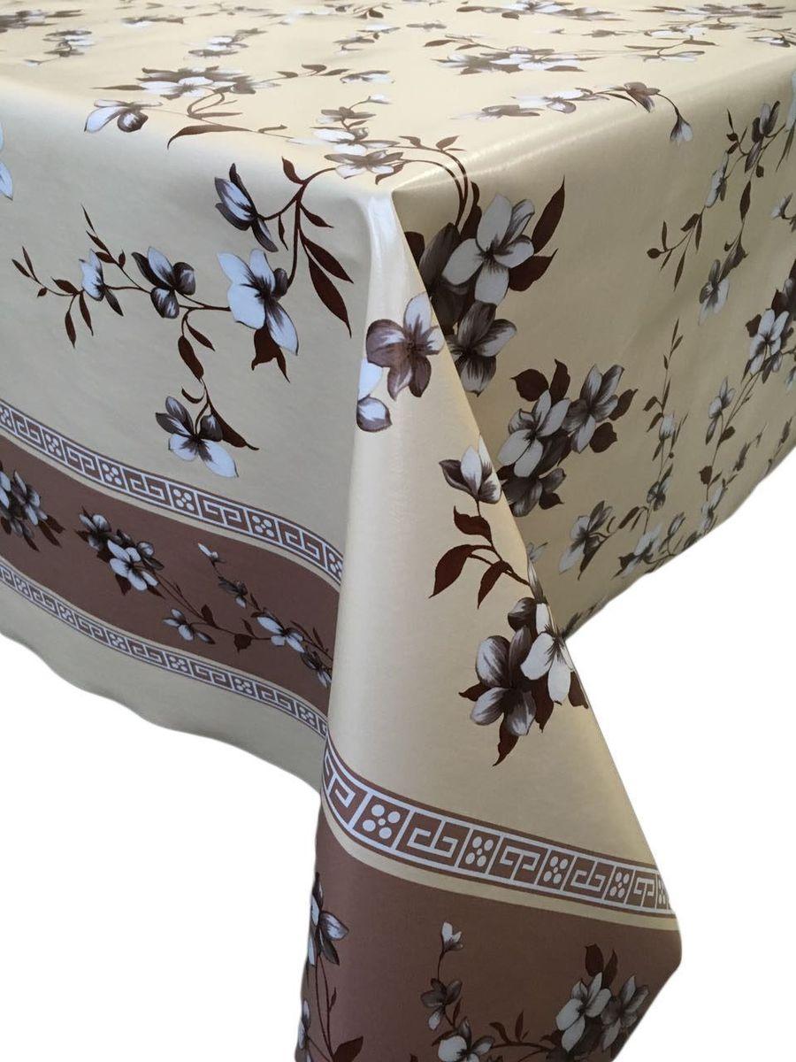 Клеенка столовая LCadesi Florista, прямоугольная, цвет: бежевый, 140 х 200 см. FL140200-331-04FL140200-331-04Столовая клеенка LCadesi Florista с классическим дизайном украсит ваш стол и защитит его от царапин и пятен. Благодаря основе из нетканого материала не скользит по столу. Клеенка не имеет запаха и совершенно безопасна для человека.