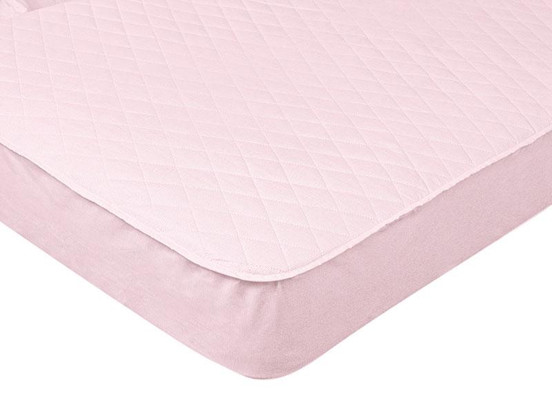 Наматрасник стеганый Primavelle, цвет: розовый, 160 см х 200 см531-105Наматрасник Primavelle с наполнителем из полиэстера сделает ваш сон еще комфортнее. Чехол, выполненный на 70% из хлопка и на 30% из полиэстера, оформлен декоративной стежкой. Наматрасник может подвергаться многочисленным стиркам, не теряя своих первоначальных качеств. По всему периметру наматрасника пришита резинка, что избавит вас от необходимости постоянно его поправлять. Изделие защитит матрас от грязи и пыли и придаст дополнительный комфорт вашему спальному месту. Мягкий и легкий, наматрасник прекрасно подойдет для жестких кроватей и диванов, делая ваш сон спокойным и приятным. Наматрасник упакован в прозрачный пластиковый чехол на змейке с ручкой, что является чрезвычайно удобным при переноске. Материал чехла: 70% хлопок и 30% из полиэстер. Материал наполнителя: 100% полиэстер.