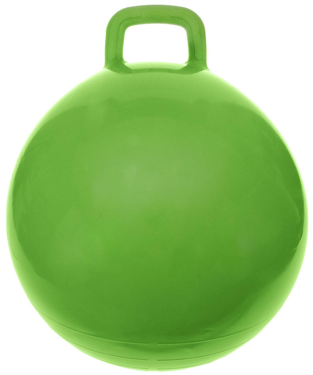 МалышОК! Мяч Прыгун с ручкой цвет зеленый 50 см