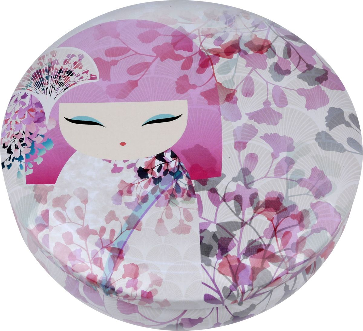 Жестяная шкатулка Kimmidoll Макото. KH098543718Милая жестяная шкатулка для хранения бижутерии или косметики.Материал: жестьРазмер: 13,5 x 4,5 x 13,5 см.