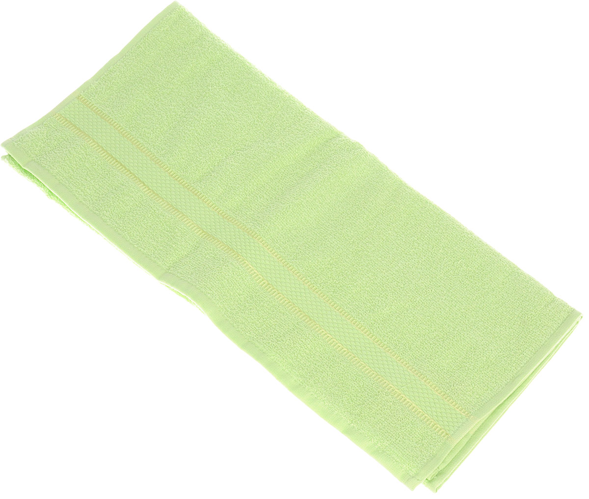 Полотенце Brielle Basic, цвет: зеленый, 50 х 85 см391602Полотенце Brielle Basic выполнено из 100% хлопка. Изделие очень мягкое, оно отлично впитывает влагу, быстро сохнет, сохраняет яркость цвета и не теряет формы даже после многократных стирок. Лаконичные бордюры подойдут для любого интерьера ванной комнаты. Полотенце прекрасно впитывает влагу и быстро сохнет. При соблюдении рекомендаций по уходу не линяет и не теряет форму даже после многократных стирок.Полотенце Brielle Basic очень практично и неприхотливо в уходе.Такое полотенце послужит приятным подарком.