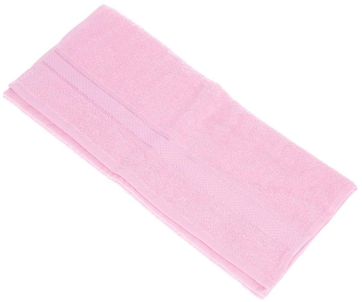 Полотенце Brielle Basic, цвет: розовый, 50 х 85 см68/5/3Полотенце Brielle Basic выполнено из 100% хлопка. Изделие очень мягкое, оно отлично впитывает влагу, быстро сохнет, сохраняет яркость цвета и не теряет формы даже после многократных стирок. Лаконичные бордюры подойдут для любого интерьера ванной комнаты. Полотенце прекрасно впитывает влагу и быстро сохнет. При соблюдении рекомендаций по уходу не линяет и не теряет форму даже после многократных стирок.Полотенце Brielle Basic очень практично и неприхотливо в уходе.Такое полотенце послужит приятным подарком.
