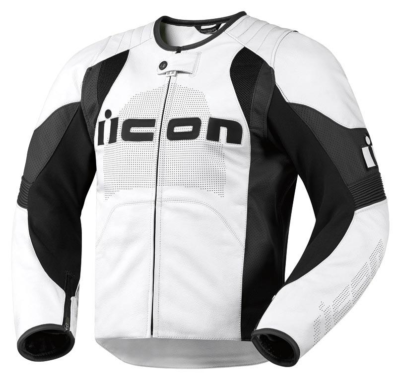 Мотокуртка Icon Overlord, цвет: белый. 2810. Размер XL мотобрюки icon overlord textile цвет черный 2821 размер m