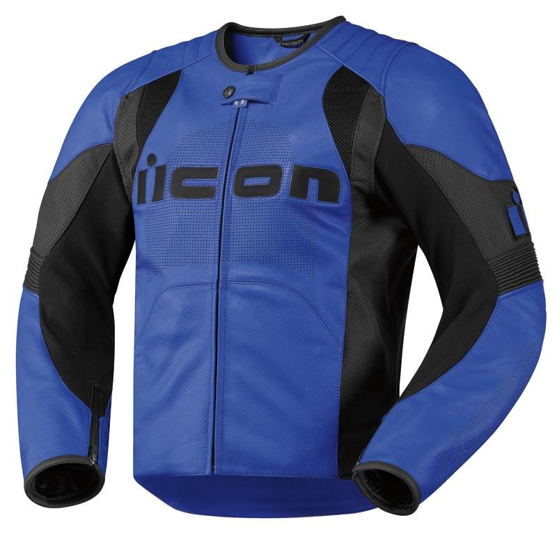 Мотокуртка Icon Overlord, цвет: синий. 2810. Размер XL мотобрюки icon overlord textile цвет черный 2821 размер m
