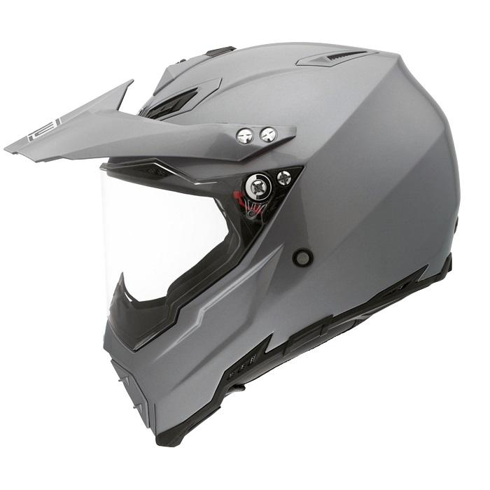 Мотошлем AGV AX-8 Dual EVO, цвет: серый металлик. 7611A4C0. Размер XL7611A4C0-003-XLAGV AX-8 Dual Evo – мотошлем, который можно отнести к универсальным кроссовым моделям. Используется преимущественно для эндуро и мотарда, но подойдет и для мотокросса или городской езды. Строгий, стремительный дизайн в цвете титановый серый, высокие показатели прочности и комфорта обеспечили популярность этой модели среди многих спортсменов и любителей езды по бездорожью.