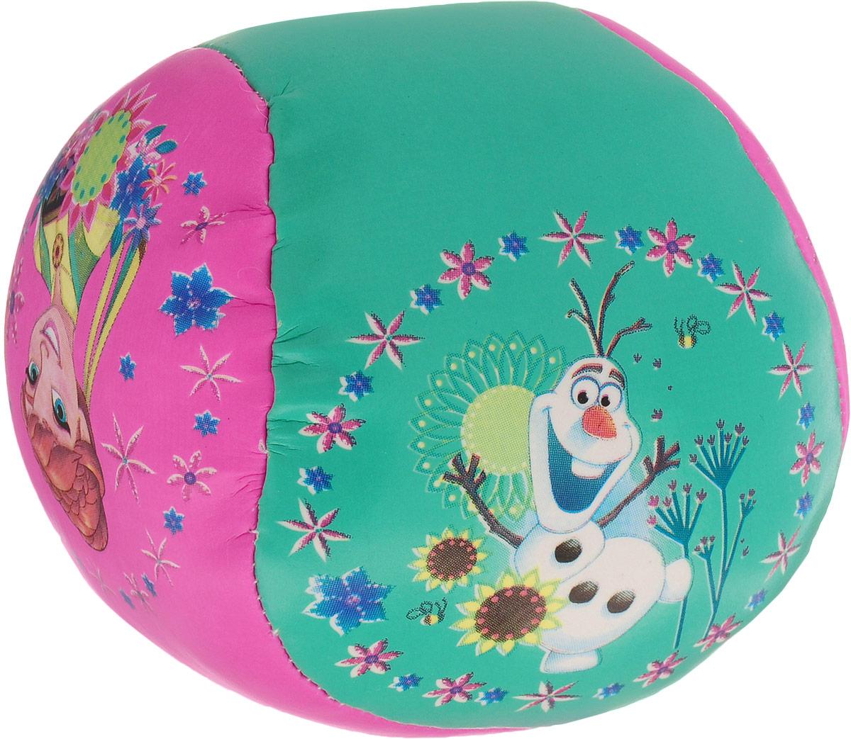 Fresh Trend Мяч Холодное сердце цвет бирюзовый розовый 10 см
