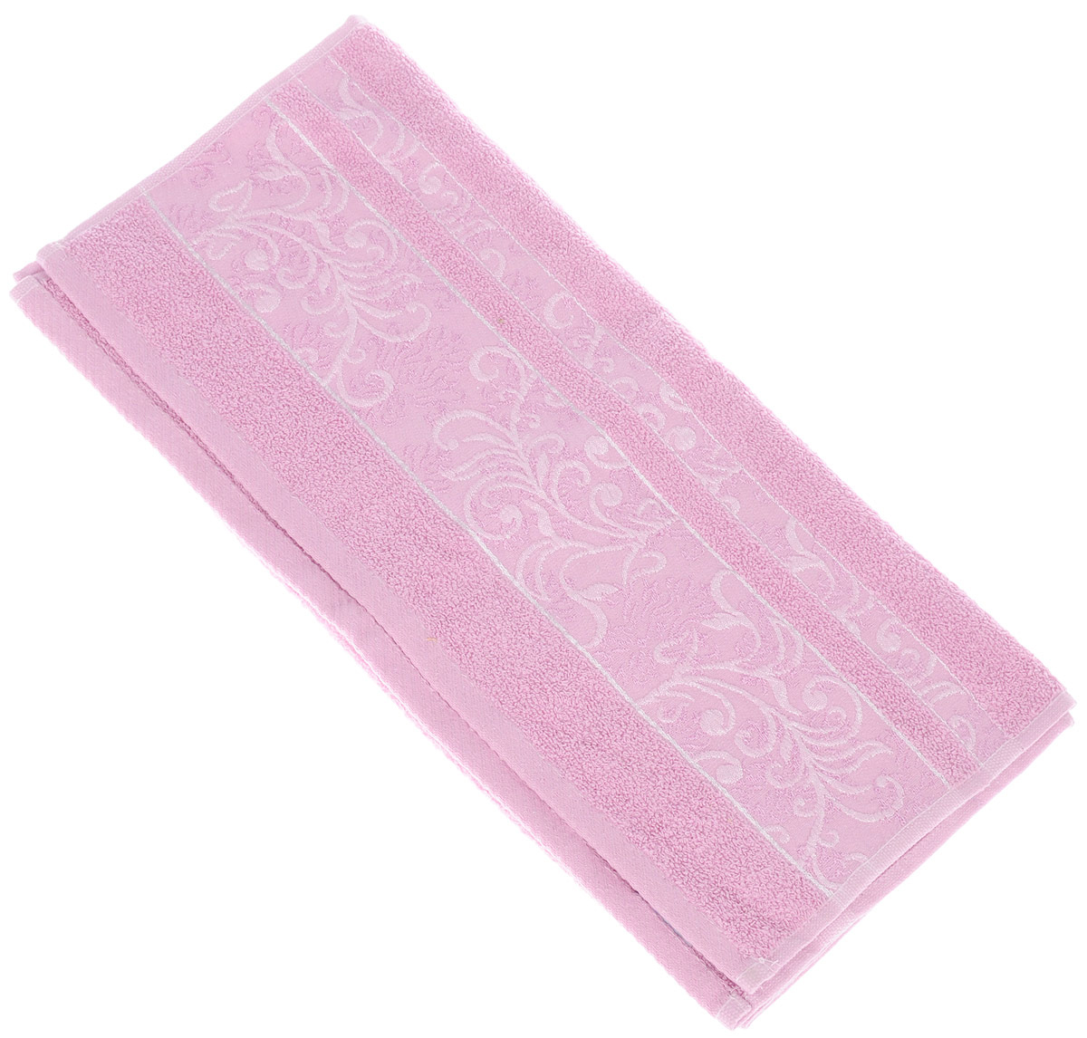 Полотенце Brielle Sarmasik Royal, цвет: розовый, 50 х 90 смS03301004Полотенце Brielle Sarmasik Royal выполнено из 100% хлопка. Изделие очень мягкое, оно отлично впитывает влагу, быстро сохнет, сохраняет яркость цвета и не теряет формы даже после многократных стирок. Модель оформлена узорным рисунком. Полотенце Brielle Sarmasik Royal очень практично и неприхотливо в уходе. Такое полотенце послужит приятным подарком.