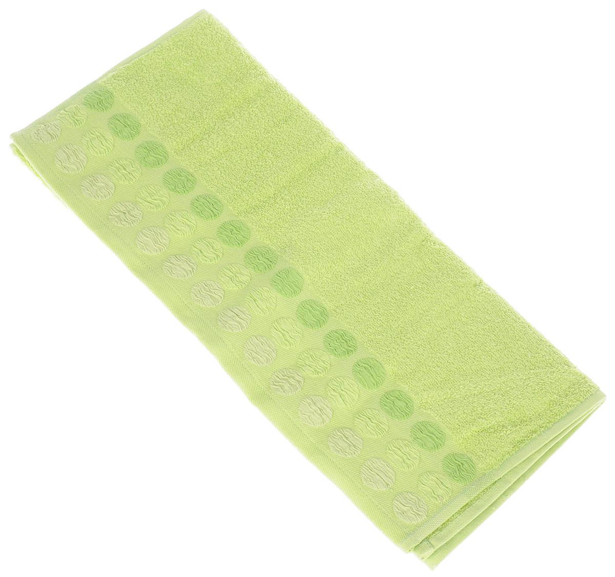 Полотенце Brielle Point, цвет: зеленый, 50 х 90 см68/5/1Полотенце Brielle Point выполнено из 100% хлопка. Изделие очень мягкое, оно отлично впитывает влагу, быстро сохнет, сохраняет яркость цвета и не теряет формы даже после многократных стирок. Модель оформлена рисунком.Полотенце Brielle Point очень практично и неприхотливо в уходе. Такое полотенце послужит приятным подарком.