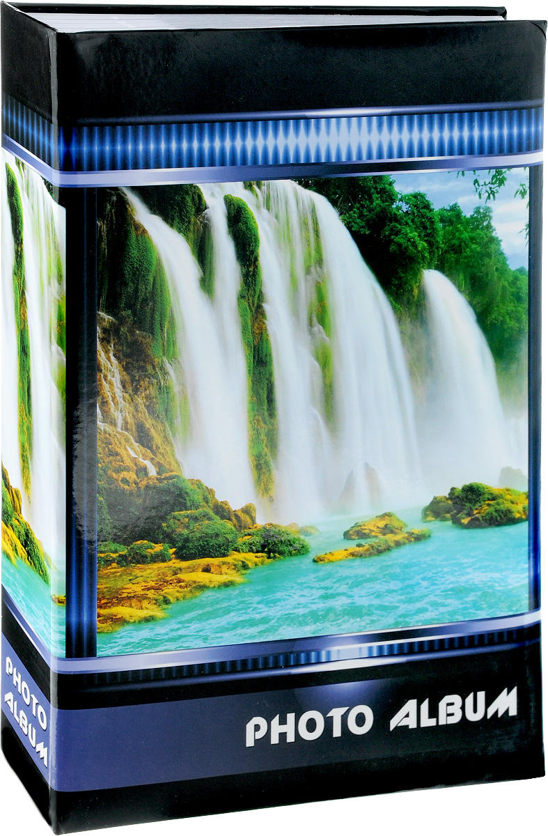 Фотоальбом Pioneer Waterfalls, 300 Фотографий, 10 x 15 см44410Фотоальбом Pioneer Waterfalls позволит вам запечатлеть незабываемые моменты вашей жизни, сохранить свои истории и воспоминания на его страницах. Обложка из искусственной кожи оформлена оригинальным принтом. Фотоальбом рассчитан на 300 фотографии форматом 10 x 15 см. Такой необычный фотоальбом позволит легко заполнить страницы вашей истории, и с годами ничего не забудется.Тип обложки: Ламинированный картон.Тип листов: бумажные.Тип переплета: клеевой.Материалы, использованные в изготовлении альбома, обеспечивают высокое качество хранения ваших фотографий, поэтому фотографии не желтеют со временем.