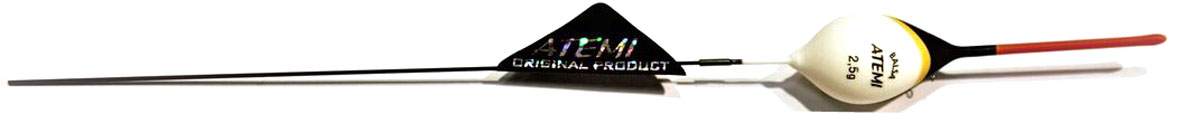 Поплавок Atemi Bello, 2,5 г. 407-00043PGPS7797CIS08GBNVПоплавок Atemi Bello изготовлен из бальзы - легкой и стойкой к влаге древесины. Качественная внешняя отделка обеспечит продолжительный срок службы. Все характеристики тщательно разрабатывалось производителем для повышения чувствительности оснастки и лучшей видимости поплавка рыболовом.Вес огрузки: 2,5 г.