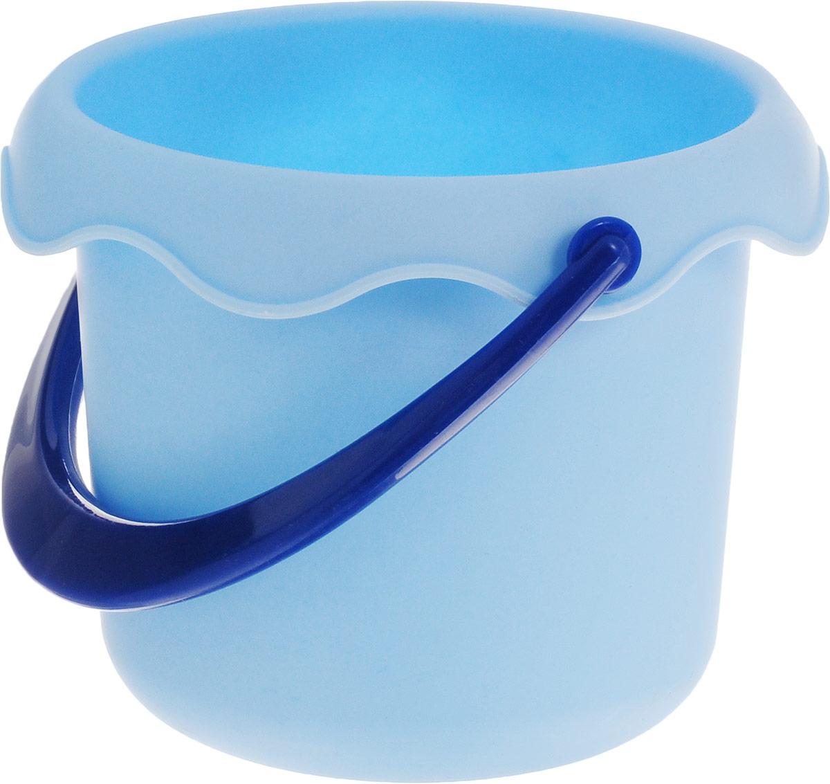 Baby Trend Игрушка для песочницы Ведро маленькое цвет голубой