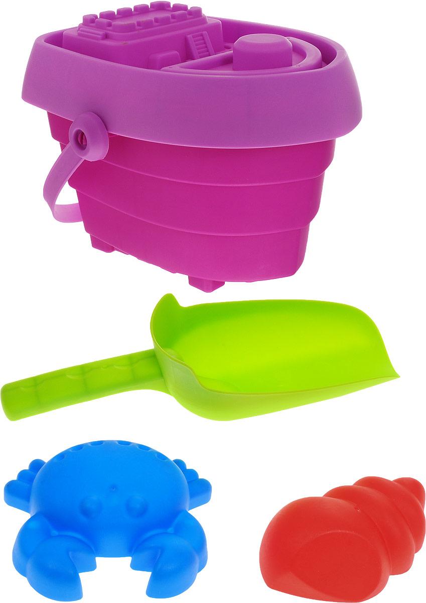Baby Trend Набор для песочницы цвет фиолетовый формочки игрушечные happy baby набор для игр с песком cake
