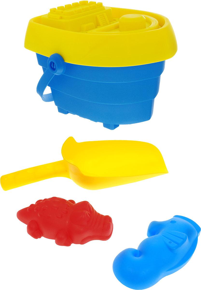 Baby Trend Набор для песочницы цвет синий желтый формочки игрушечные happy baby набор для игр с песком cake