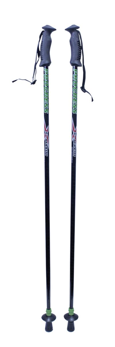 Палки для скандинавской ходьбы с двухкомпонентной ручкой, 125 см, 2 шт