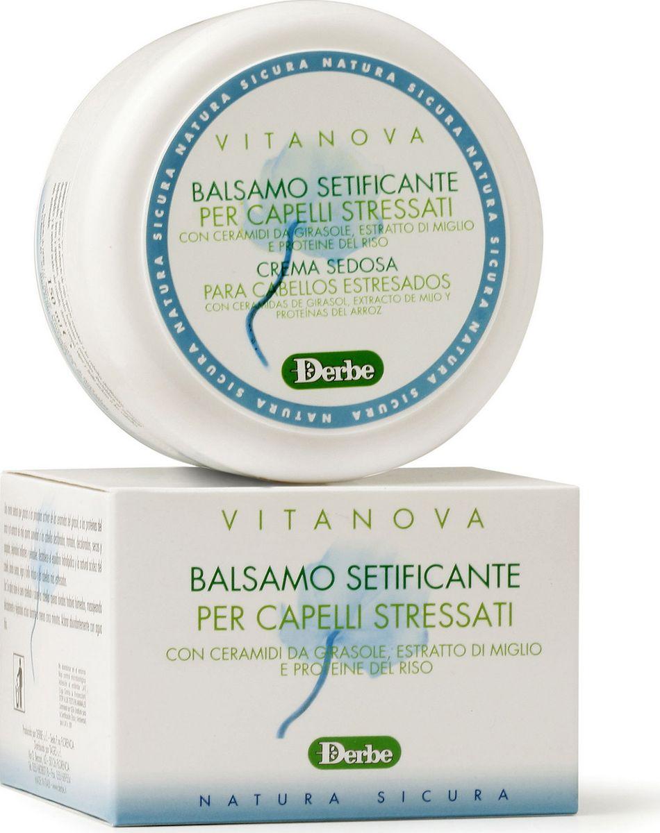 Derbe Кондиционер для волос с экстрактом проса Vitanova, 150 млA905081004Мягкий бальзам-кондиционер составляет идеальную пару с шампунем этой линии для ухода за сухими, поврежденными и ослабленными волосами. Бальзам содержит растительные экстракты - керамиды подсолнечника, экстракты проса и риса. Этот успокаивающий бальзам придаст мягкость вашим волосам (подвергающихся окрашиванию, завивке, частой сушке горячим воздухом, пребыванию на солнце и пр.). Бальзам мгновенно сделает их блестящими. Он восстанавливает уровень влажности волос, придавая им силу и блеск. Как результат - ваши волосы легко расчесываются и переливаются как шелк. Линия «DERBE» является 100% натуральной, поэтому все наши средства не содержат синтетические консерванты (парабены, феноксиэтанол), производные нефтепродуктов и минеральные масла, лаурил\лаурет сульфаты, силиконы, генномодифицированные компоненты. Производство наших средств полностью безопасно для природы. Производитель использует специальную упаковку, пригодную для вторичной переработки. По этой причине наши продукты не имеют пленку из слюды поверх картонной упаковки, тубы не защищены фольгой, т.к. слюда и фольга разлагаются в почве около 100 лет, что наносит вред природе.