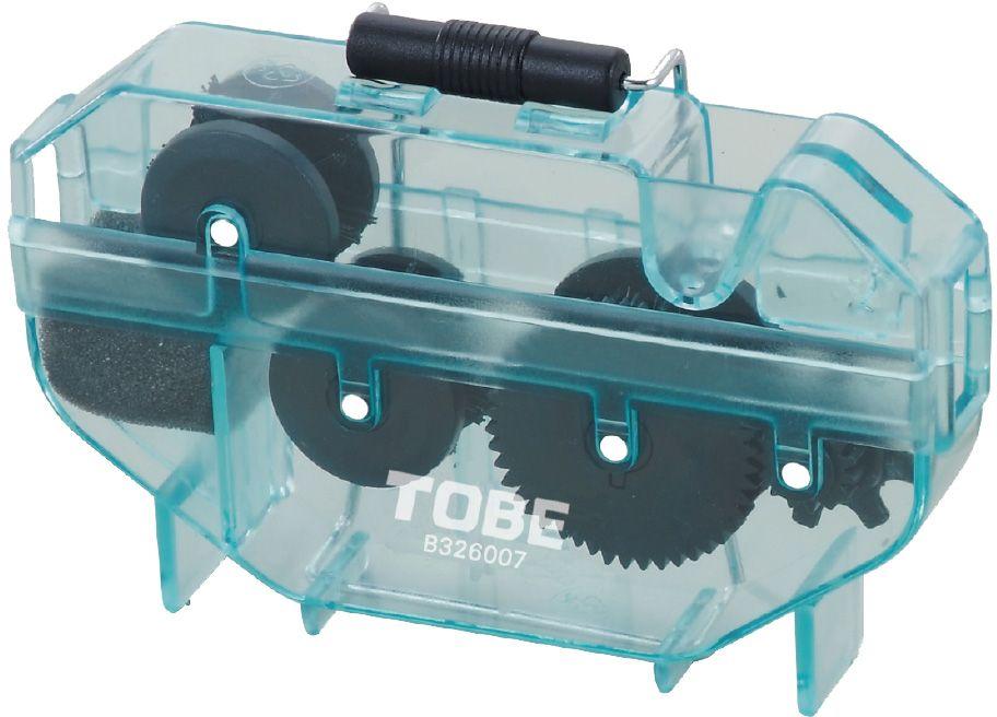 Машинка для очистки цепи To Be. 20902090Для очистки цепи B326007 Особенности:4-сторонние щетки; Простая очистка цепи; Можно использовать с цитрусовым обезжиривателем
