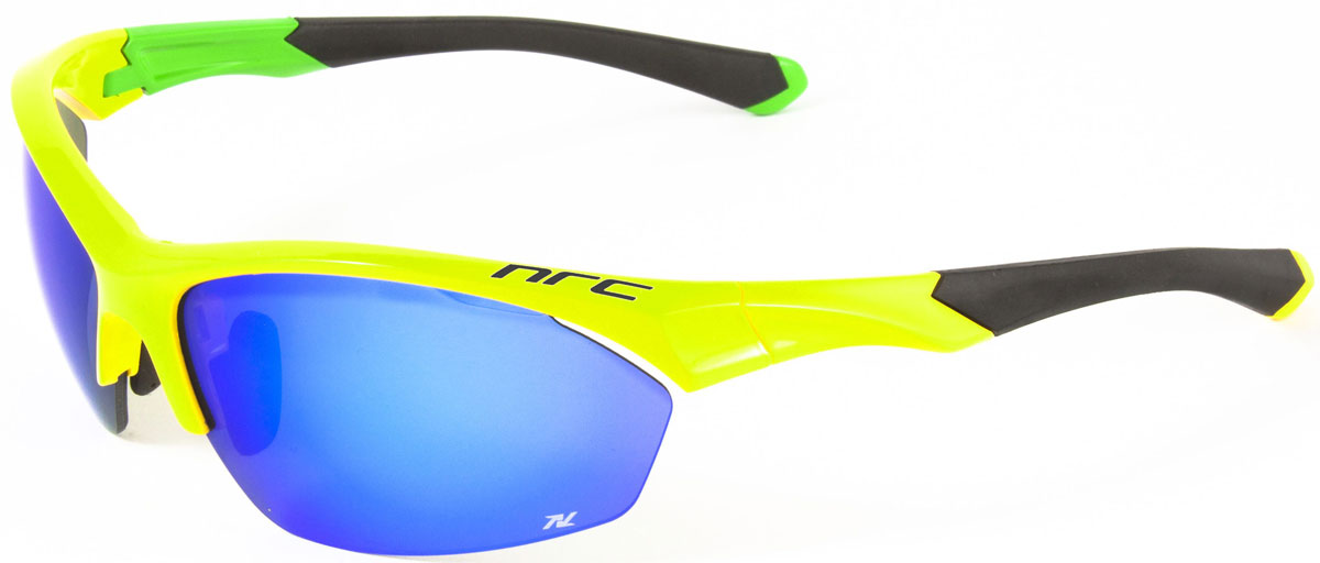 Очки солнцезащитные NRC, цвет: желый. 2101421014Очки солнцезащитные NRC - предназначены, как для езды на велосипеде, так и для многих других видов спорта. Бренд NRC известен собственными фирменными разработками, адаптирующими очки под разные климатические условия, различное время суток, степень освещенности, а также под индивидуальные потребности каждого конкретного пользователя. Особенности:Синие зеркальные линзыМатериал оправы – нейлон (TR90)Оправа - регулируемые носоупоры и дужки, возможность использовать одновременно с обычными (рецептурными) очкамиМатериал линзы - поликарбонат (РС) Покрытие – защитное от царапин, антибликовое, антизапотевающее, зеркальноеПрозрачность -18%Категория фильтра -3Вес -28,1 гКривизна (изгиб) - 8