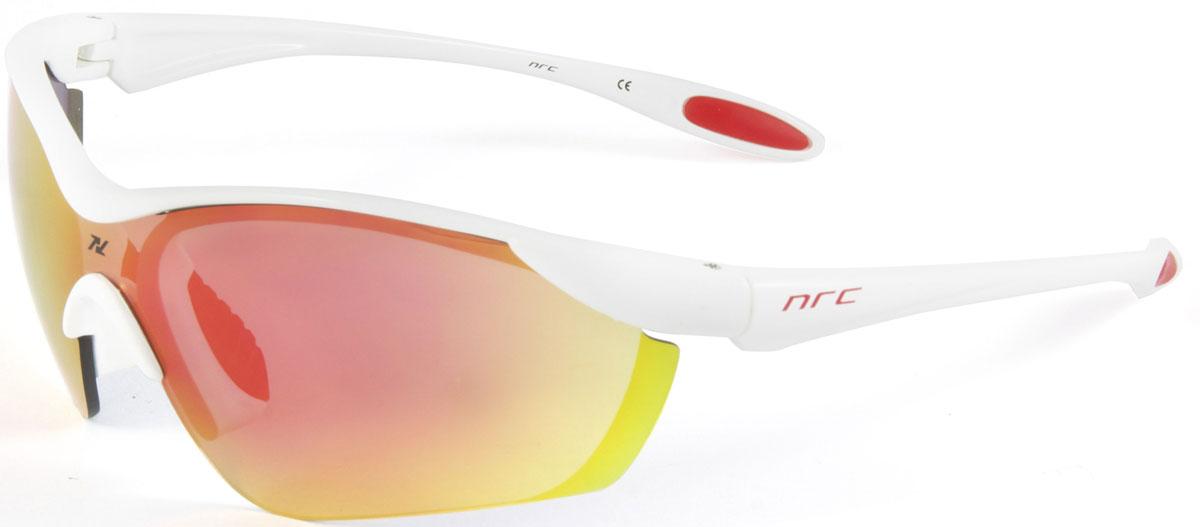 Очки солнцезащитные NRC, цвет: белый. 21032Z90 blackОчки солнцезащитные NRC - предназначены, как для езды на велосипеде, так и для многих других видов спорта. Бренд NRC известен собственными фирменными разработками, адаптирующими очки под разные климатические условия, различное время суток, степень освещенности, а также под индивидуальные потребности каждого конкретного пользователя. Особенности:Красные зеркальные линзыМатериал оправы – Нейлон (TR90)Оправа - изогнутые и удобныеМатериал линзы - поликарбонат (РС)Особенности линзы - фотохромныеПокрытие – защитное от царапин, антизапотевающее, зеркальноеПрозрачность -12%Категория фильтра -3Вес -22,2 гКривизна (изгиб) -7