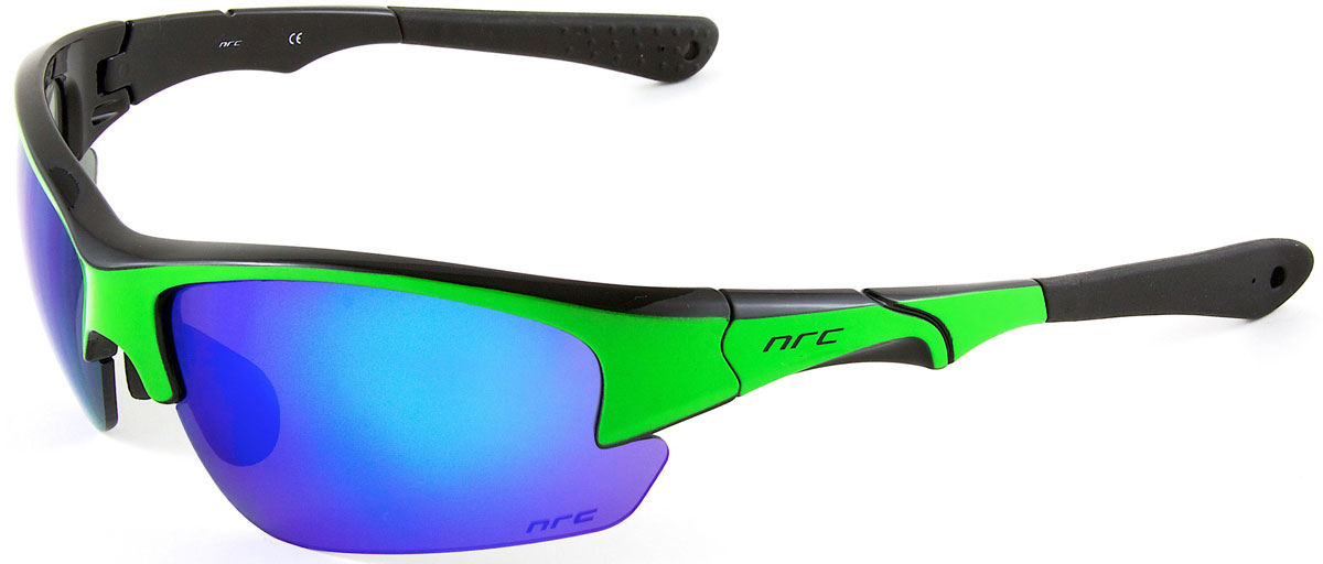 Очки солнцезащитные NRC, цвет: зеленый. 2103521035Очки солнцезащитные NRC - предназначены, как для езды на велосипеде, так и для многих других видов спорта. Бренд NRC известен собственными фирменными разработками, адаптирующими очки под разные климатические условия, различное время суток, степень освещенности, а также под индивидуальные потребности каждого конкретного пользователя. Особенности:Синие зеркальные линзыМатериал оправы – Нейлон (TR90)Оправа - регулируемые носоупоры и дужкиМатериал линзы - поликарбонат (РС)Особенности линзы - фотохромныеПокрытие – защитное от царапин, зеркальноеПрозрачность -15%Категория фильтра -3Вес -32,3 гКривизна (изгиб) -8