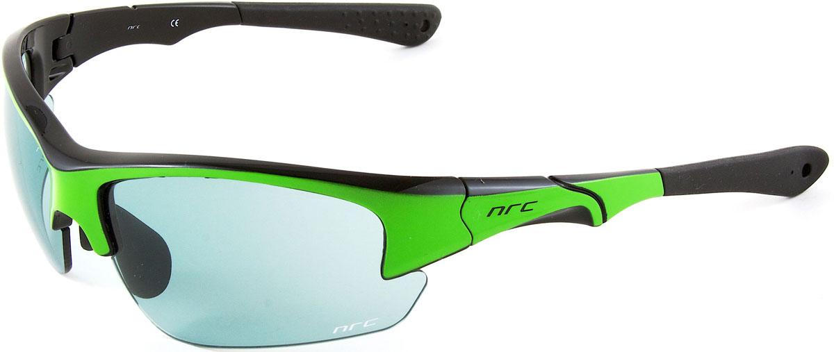 Очки солнцезащитные NRC, цвет: зеленый. 2103721037Очки солнцезащитные NRC - предназначены, как для езды на велосипеде, так и для многих других видов спорта. Бренд NRC известен собственными фирменными разработками, адаптирующими очки под разные климатические условия, различное время суток, степень освещенности, а также под индивидуальные потребности каждого конкретного пользователя. Особенности:Дымчатые фотохромные линзыМатериал оправы – Нейлон (TR90)Оправа - регулируемые носоупоры и дужкиМатериал линзы - поликарбонат (РС)Особенности линзы - фотохромныеПокрытие – защитное от царапин, зеркальноеПрозрачность -15%Категория фильтра -3Вес -32,3 гКривизна (изгиб) -8