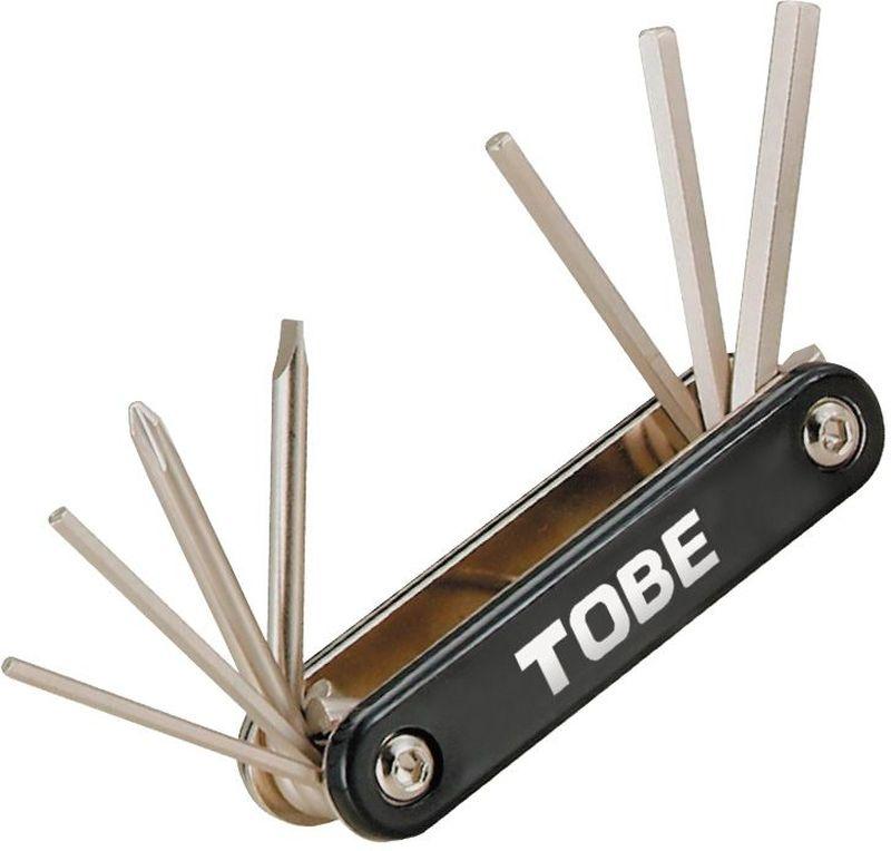 Складной инструмент To Be, 7 в 1. 2127MW-1462-01-SR серебристыйСкладные инструменты B966000Особенности: 6-гранный торцевые ключи 2.5/3/4/5/6 мм;Отвертка (+)/(-)