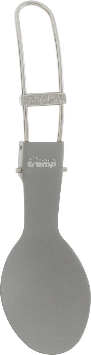 Ложка складная Tramp, титановаяперфорационные unisexСкладная ложка-вилка Tramp изготовлена из титана. Благодаря складной конструкции удобна для хранения и транспортировки. Весит всего 18 г, в сложенном виде занимает минимум места.Длина: 16 см.