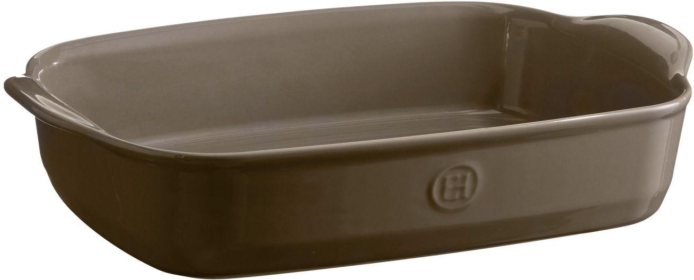 Форма для запекания Emile Henry, прямоугольная, 23 х 36 смОБЧ00000124_коричневые полосыФорма выполнена в новом цвете Флинт. Флинт - это воплощение элегантности и спокойствия на Вашей кухне, прекрасно сочетается с остальными цветами форм от Emile Henry.Высокопрочная керамика (HR ceramic®), из которой изготовлена форма, равномерно распределяет и сохраняет тепло, что идеально для приготовления запеканок, гратенов, лазаний. Форма достаточно вместительна, и в ней можно подавать блюда прямо на стол. Форма для.