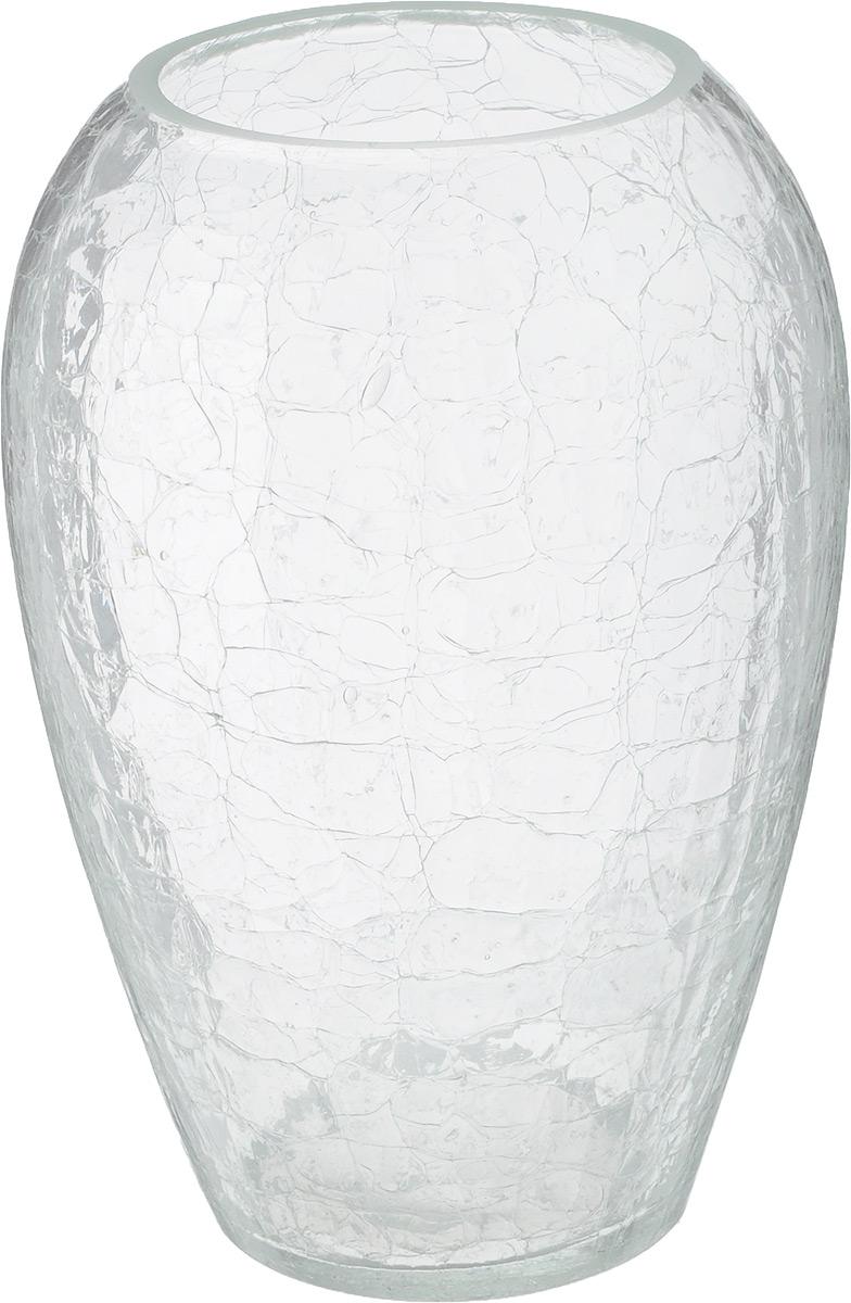 Ваза NiNaGlass, высота 20 см54 009312Ваза NiNaGlass выполнена из высококачественного стекла и оформлена изящным рельефом. Такая ваза станет ярким украшением интерьера и прекрасным подарком к любому случаю.Высота вазы: 20 см.Диаметр вазы (по верхнему краю): 8 см.