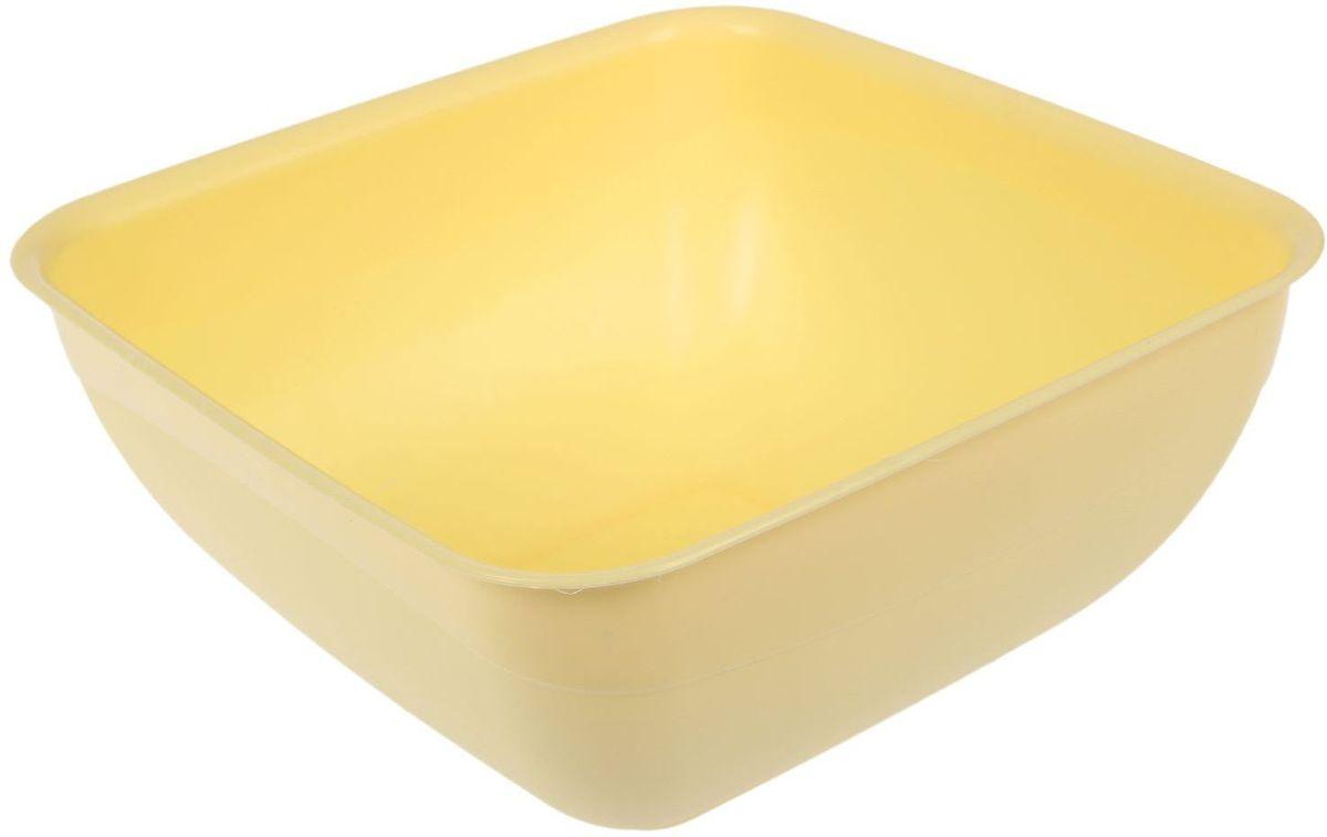 Салатник Fimako, цвет: лимонный, 5 лFS-91909От качества посуды зависит не только вкус еды, но и здоровье человека. Любой хозяйке будет приятно держать его в руках. С посудой и кухонной утварью Fimako приготовление еды и сервировка стола превратятся в настоящий праздник.