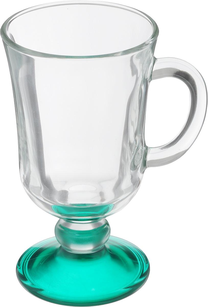 Кружка OSZ Глинтвейн, цвет: прозрачный, зеленый, 200 мл391602Кружка OSZ Глинтвейн изготовлена из стекла двух цветов. Изделие идеально подходит для сервировки стола.Кружка не только украсит ваш кухонный стол, но и подчеркнет прекрасный вкус хозяйки. Диаметр кружки (по верхнему краю): 7,5 см. Высота ножки: 3,5 см. Высота кружки: 14 см. Объем кружки: 200 мл.