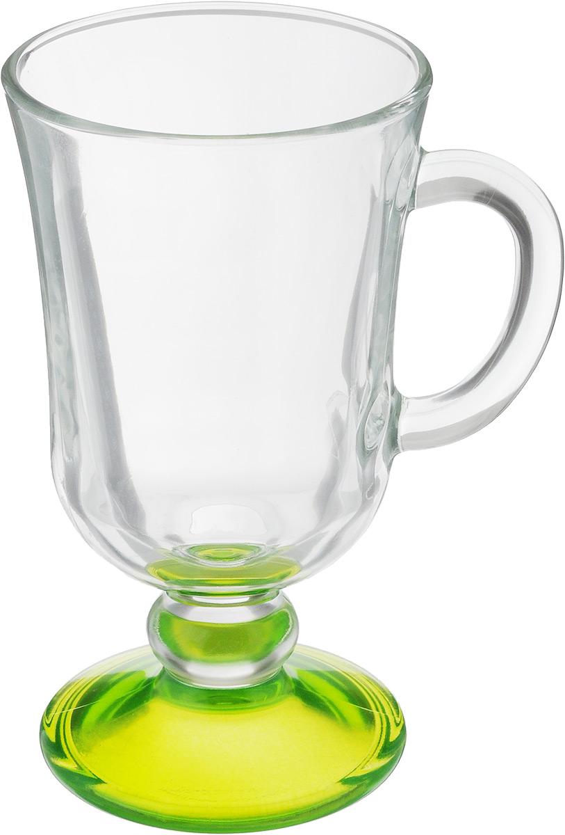 Кружка OSZ Глинтвейн, цвет: прозрачный, салатовый, 200 мл115610Кружка OSZ Глинтвейн изготовлена из стекла двух цветов. Изделие идеально подходит для сервировки стола.Кружка не только украсит ваш кухонный стол, но и подчеркнет прекрасный вкус хозяйки. Диаметр кружки (по верхнему краю): 7,5 см. Высота ножки: 3,5 см. Высота кружки: 14 см. Объем кружки: 200 мл.