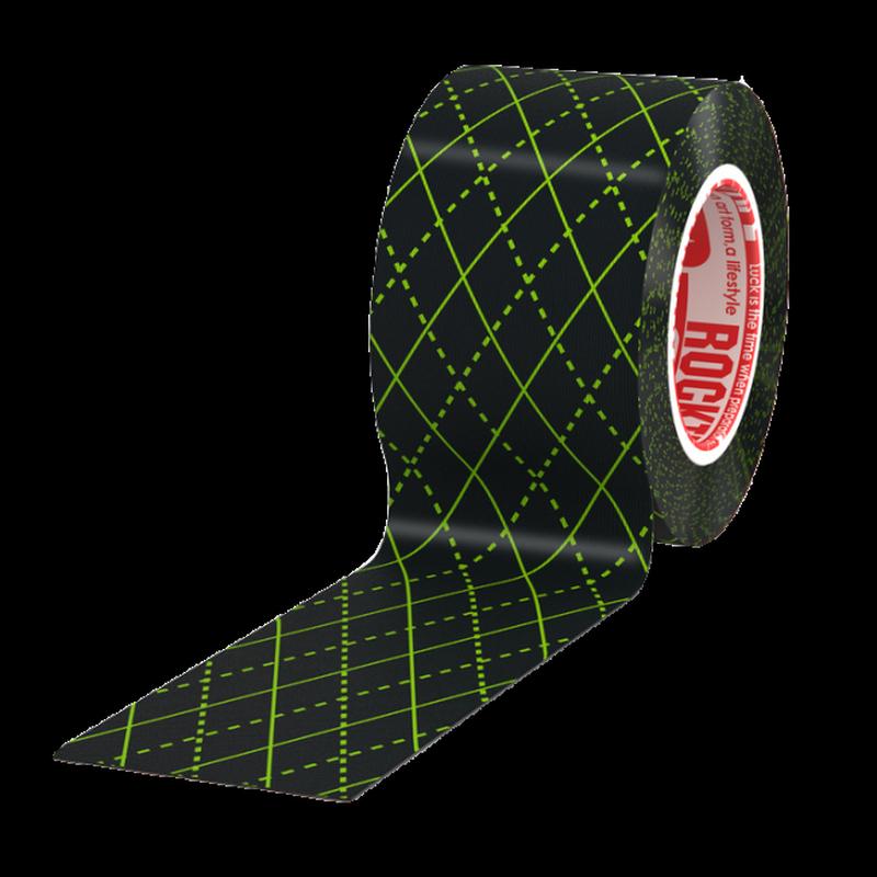 Кинезиотейп Rocktape Design. Черный узор, 5 см х 5 мRCT100-BKARG-OSМатериал: 97% хлопок, 3% нейлон 6/12Стойкая гипоаллергенная клеевая основаЭластичность: 180-190% (!)Плотная волнообразная структура тканиВодостойкийНосится, не теряя свойств, до 5 днейПроизводство: США/Корея